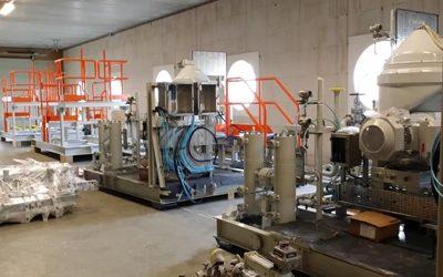 Diesel olie separator