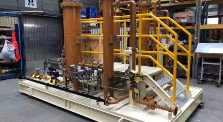 Instrument Air Receiver, Diesel Oil Purifier Package & Slop Polishing Package voor een FPSO