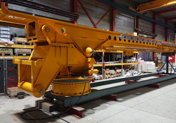 Fabricatie en Trail Fit van een Bring-2-Work (B2W) systeem